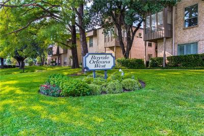 Fort Worth Condo Active Option Contract: 4320 Bellaire Drive S #228W
