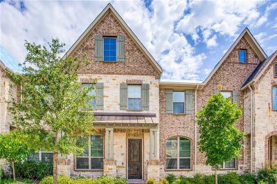 Mckinney Townhouse For Sale: 7117 Chief Spotted Tail Drive