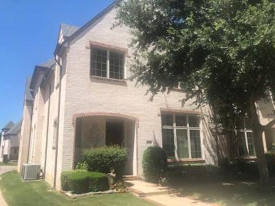 Coppell Townhouse For Sale: 716 Snowshill Trail