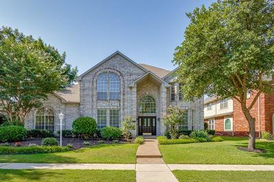 Collin County Single Family Home For Sale: 6312 Woodway Lane