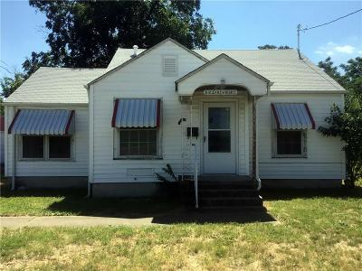 Fort Worth Single Family Home For Sale: 512 Cartwright Avenue