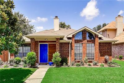 Allen Single Family Home For Sale: 1600 Mountain Side Drive