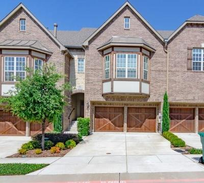 Lewisville Townhouse For Sale: 2654 Sherwood Drive