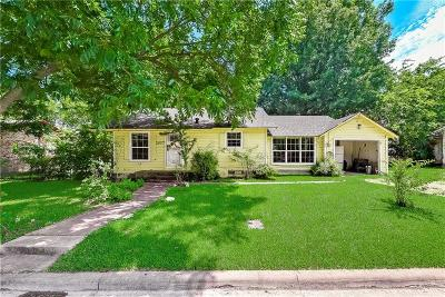 Corsicana Single Family Home Active Option Contract: 2027 W 12th Avenue