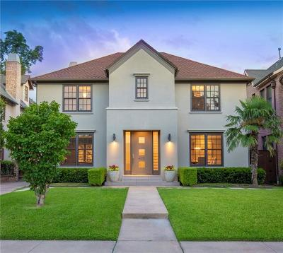 Highland Park, University Park Single Family Home For Sale: 4315 Southern Avenue