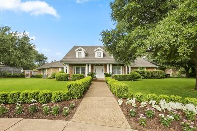 Preston Hollow Single Family Home For Sale: 5806 Saint Marks Circle