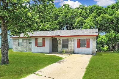 Balch Springs Single Family Home For Sale: 4415 Osage Drive