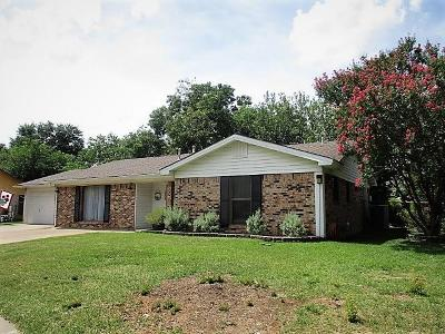 Irving Single Family Home Active Option Contract: 2123 Lake By Drive