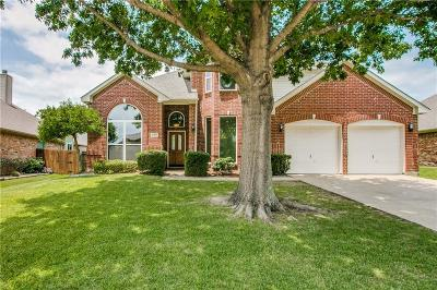 Flower Mound Single Family Home Active Option Contract: 2221 Golden Arrow Drive