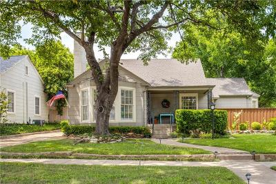 Arlington Heights Single Family Home For Sale: 4024 Birchman Avenue