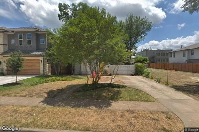 Dallas County Single Family Home For Sale: 4822 W Amherst Avenue