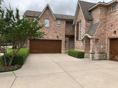 Coppell Townhouse For Sale: 1131 Bethel School Court