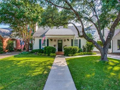 Fort Worth Single Family Home For Sale: 3608 Potomac Avenue