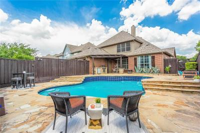 Frisco Single Family Home Active Contingent: 9607 Enmore Lane