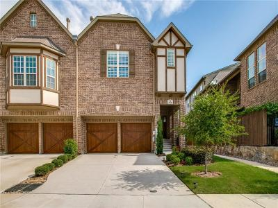 Lewisville Townhouse For Sale: 571 Waterloo Drive