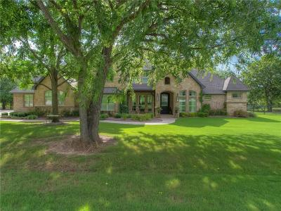 Fort Worth Single Family Home Active Option Contract: 109 Western Breeze Drive