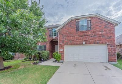 Little Elm Single Family Home For Sale: 1412 Hawk Valley Drive