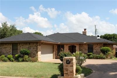 Abilene Single Family Home Active Option Contract: 3834 Crest Way