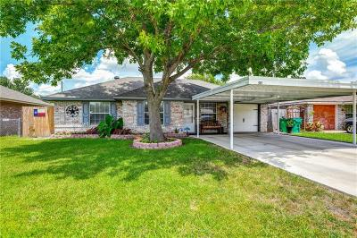 Crandall Single Family Home Active Option Contract: 401 Briar Creek Drive