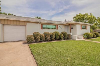 North Richland Hills Single Family Home Active Option Contract: 6769 Manor Drive