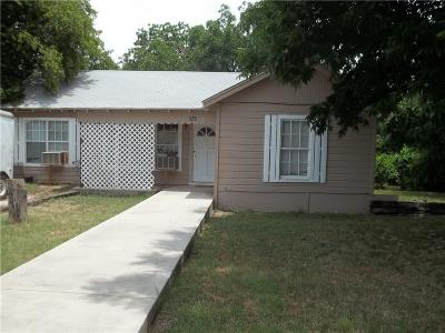 Brownwood Single Family Home For Sale: 2508 Vine Street