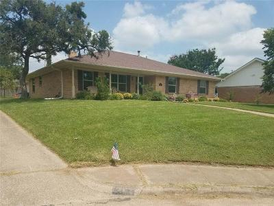 Irving Single Family Home Active Option Contract: 1415 Moss Rose Circle