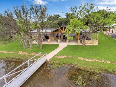 Palo Pinto County Single Family Home Active Option Contract: 1007 Fire Wheel Trail
