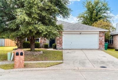 McKinney Single Family Home For Sale: 2703 Prairie Creek Drive