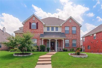 Plano Single Family Home Active Option Contract: 8217 Mura Drive