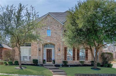 Allen Single Family Home For Sale: 1617 Rollins Drive