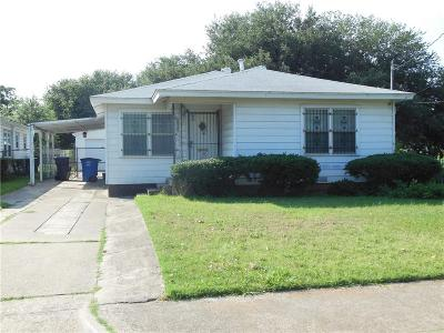 Dallas Single Family Home For Sale: 4107 Canal Street
