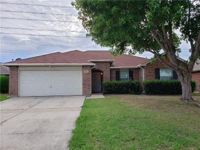 Grand Prairie TX Single Family Home Active Option Contract: $214,900