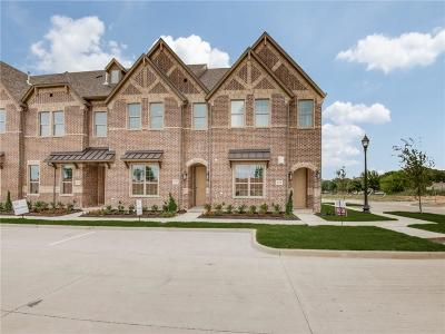Frisco Townhouse For Sale: 4122 Shavano Drive