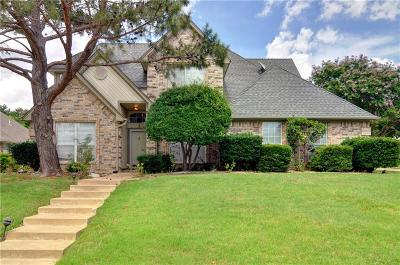 Mansfield Single Family Home Active Option Contract: 2300 Welch Place