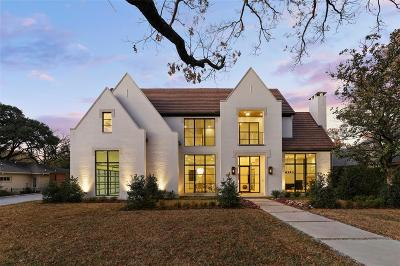 Preston Hollow Single Family Home For Sale: 6043 Stefani Drive