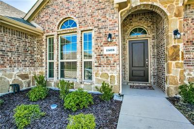 Rockwall Single Family Home For Sale: 1505 Burlingame Drive