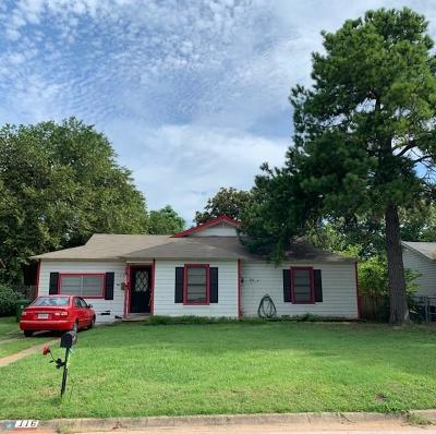 Hurst Single Family Home Active Option Contract: 116 Charlene Drive
