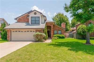 Grapevine Single Family Home For Sale: 4145 Woodland Court
