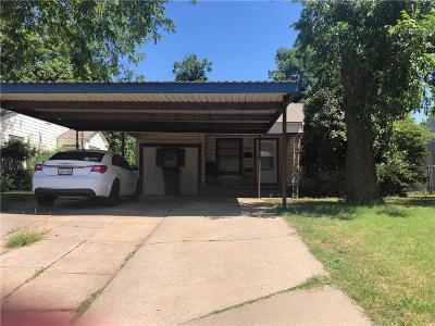 Archer County, Baylor County, Clay County, Jack County, Throckmorton County, Wichita County, Wise County Single Family Home For Sale: 2508 Fain Street