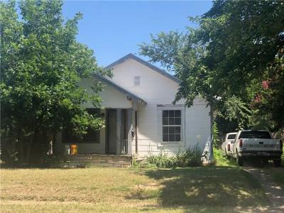 Wichita County Single Family Home For Sale: 1666 Keeler Avenue