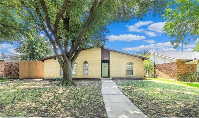The Colony Single Family Home For Sale: 5204 Cook Circle