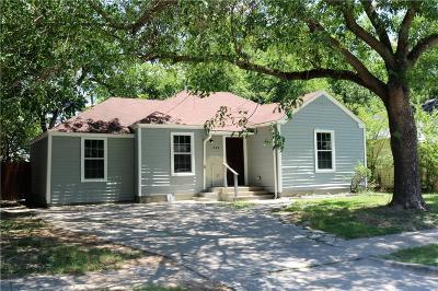 Grand Prairie TX Single Family Home For Sale: $170,000