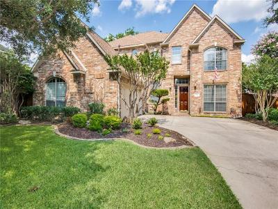 Coppell Single Family Home Active Option Contract: 916 Creek Crossing