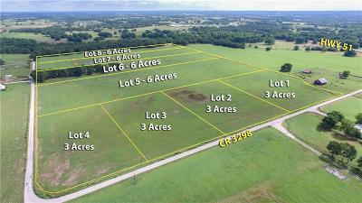 Wise County Residential Lots & Land For Sale: Lot 1 Cr 3298
