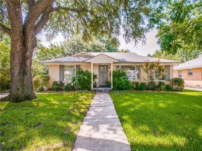 Single Family Home For Sale: 6724 Belford Drive