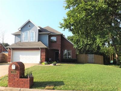 Kennedale Single Family Home Active Option Contract: 206 Hillside Drive