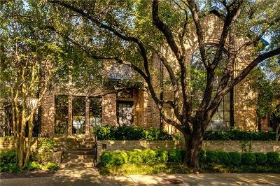 Dallas Single Family Home For Sale: 6 Laureston Place