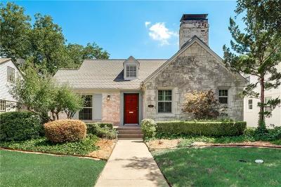 Dallas Single Family Home For Sale: 6030 Morningside Avenue