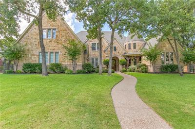 Keller Single Family Home Active Option Contract: 2333 Tall Woods Trail