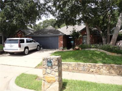 Euless Single Family Home Active Option Contract: 905 Tennison Drive